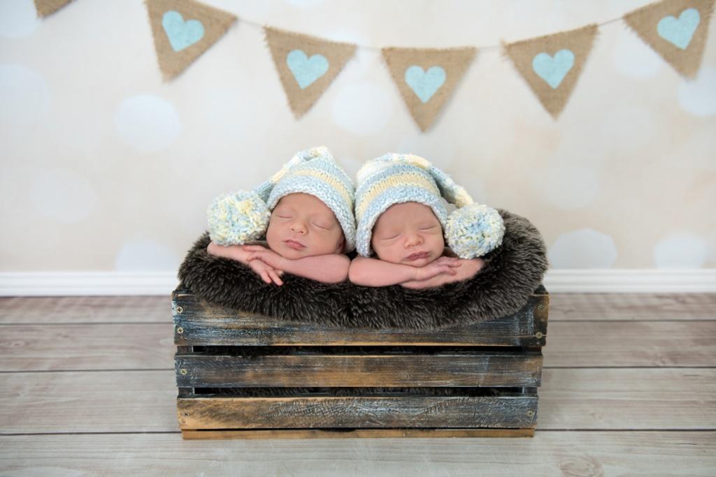 Brisbane Newborn Twin Photography
